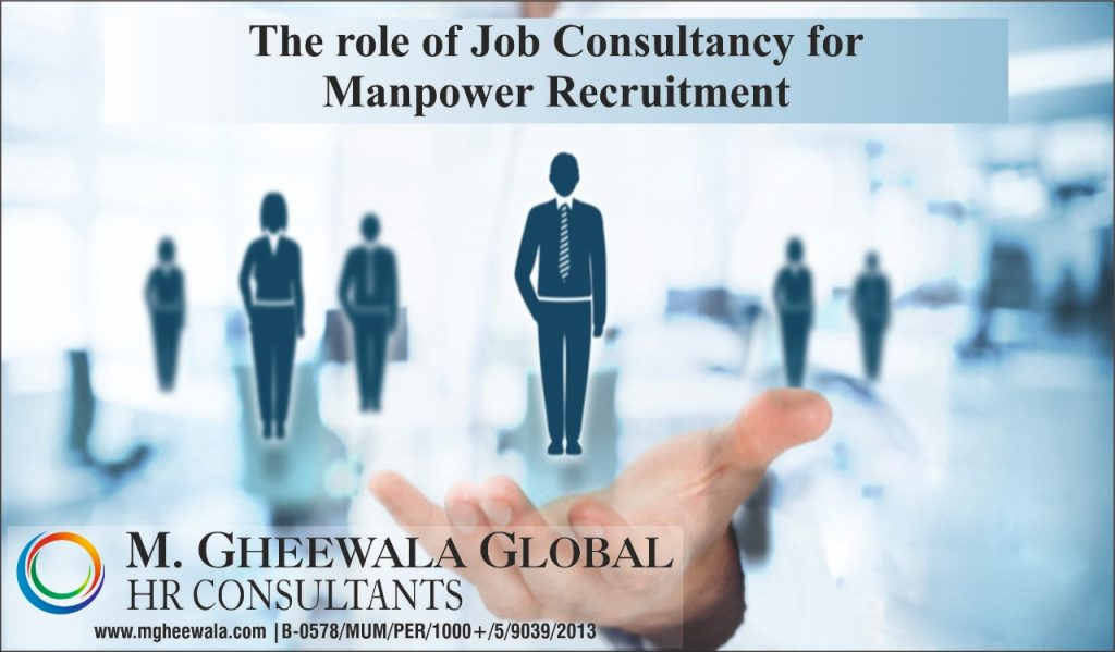 the role of job consultants for manpower recruitment