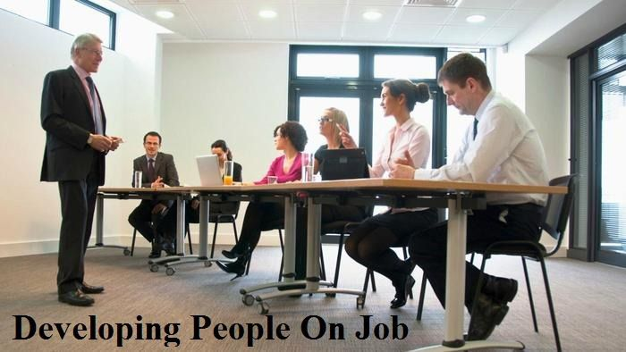 developing people on job